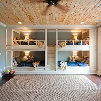 Bunk Bed Staircase, Transitional, boy's room