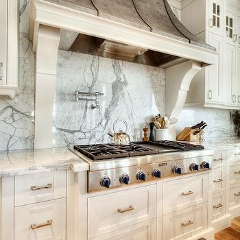 French Exhaust Hood, Transitional, kitchen, Veranda Interiors