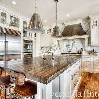 Butcher Block Counters, Transitional, kitchen, Veranda Interiors