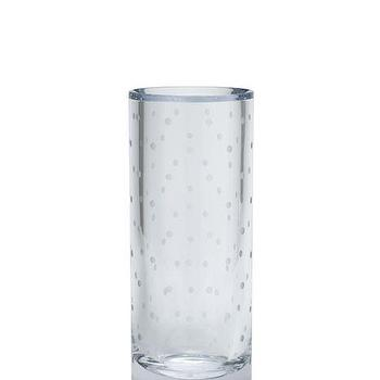 Decor/Accessories - larabee dot larabee dot vase I kate spade new york - dotted crystal vase, polka dot crystal vase, dot crystal vase,