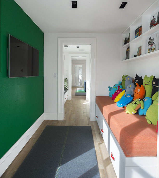 Green Kids Room: Morris And Woodhouse