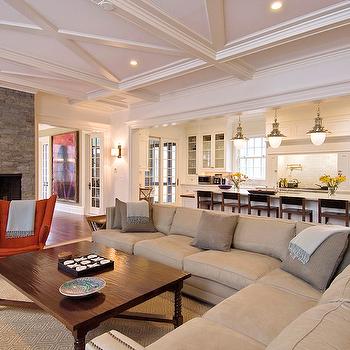 Open Concept Kitchen Living Room Paint Colors