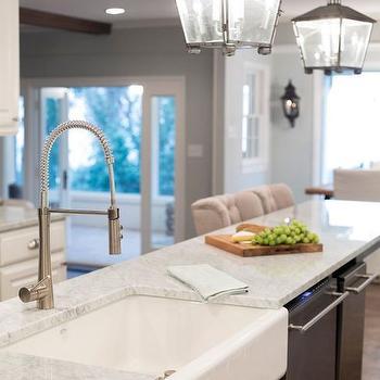 Carrera Countertops, Transitional, kitchen, HGTV