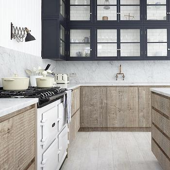 Reclaimed Wood Cabinets, Eclectic, kitchen, Shoot Factory