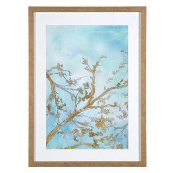 Art/Wall Decor - Gilt Branches 1 | Z Gallerie - gold branch wall art, sky and branch wall art, sky and branch art print, gold branches wall art,