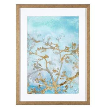 Art/Wall Decor - Gilt Branches 2 | Z Gallerie - gold branch wall art, sky and branch wall art, sky and branch art print, gold branches wall art,