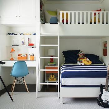 Bunk Bed Ideas, Contemporary, boy's room, Christopher Burns Interiors