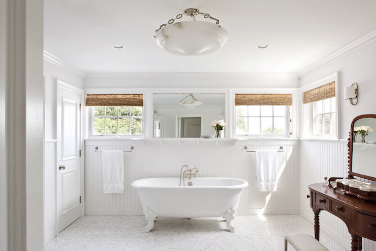 Bathroom Beadboard Cottage Bathroom Jessica Glynn