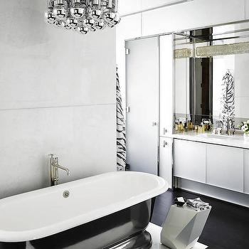 Modern Master Bathrooms, Modern, bathroom, Elle Decor