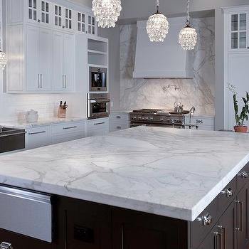 Calacatta Gold Marble, Transitional, kitchen, Artisan Counters