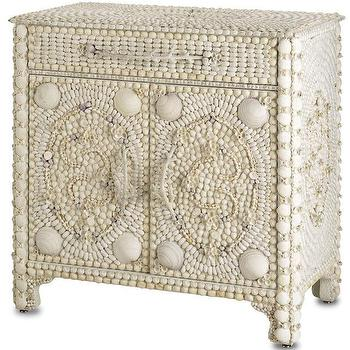 Storage Furniture - Shell Sideboard | FarmHouseUrban - seashell sideboard, seashell cabinet, seashell nightstand,