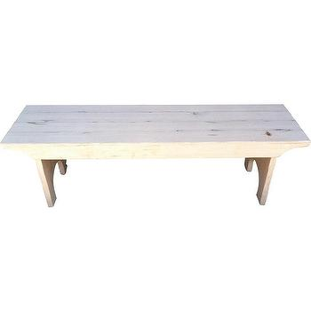 Seating - Douglas Fir Reclaimed Bench | FarmHouseUrban - douglas fir bench, reclaimed wood bench, farmhouse style bench,