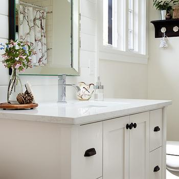 Venetian Beaded Mirror, Transitional, bathroom, The House Diaries
