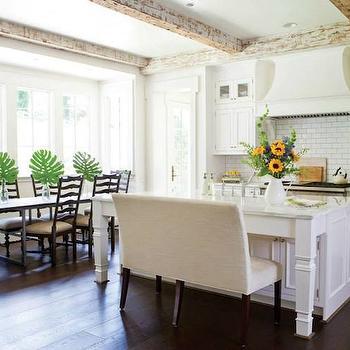 Kitchen Island Legs, Transitional, kitchen, Wellborn Cabinet