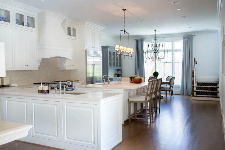 Kitchen Peninsula Sink Transitional Kitchen Coats Homes