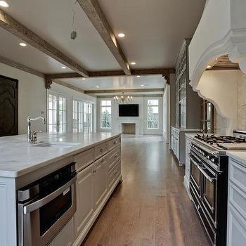 Kitchen Hood Corbels, Transitional, kitchen, Coats Homes
