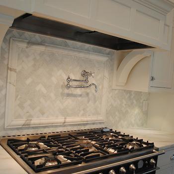 backsplash herringbone cooktop backsplash marble cooktop backsplash