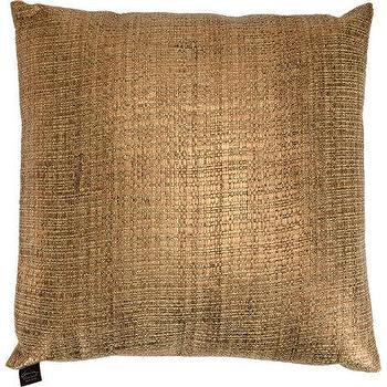 Pillows - Aviva Stanoff Metallic Basketweave Pillow I Barneys.com - gold pillow, gold basketweave pillow, metallic gold pillow, metallic basketweave pillow,