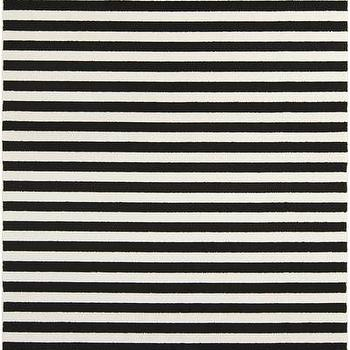 Rugs - Horizon Charcoal & Cream Rug design by Surya I Burke Decor - charcoal and cream rug, gray and cream striped rug, charcoal and cream striped rug,