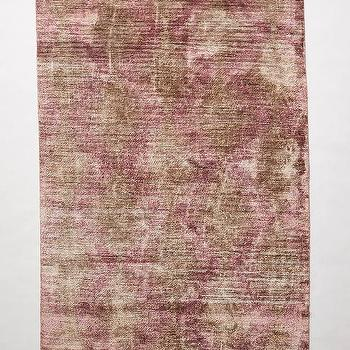 Rugs - Distressed Orto Rug I anthropologie.com - purple and gray faded rug, faded plum colored rug, purple and gray faded rug,
