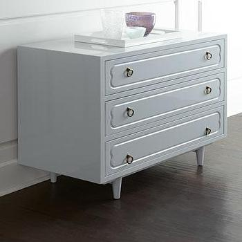 Larchment Three-Drawer Chest I Horchow