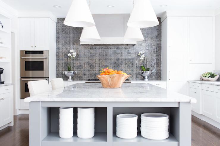 super white granite countertops contemporary kitchen. Black Bedroom Furniture Sets. Home Design Ideas