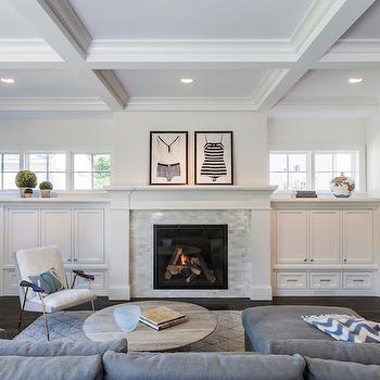 Living Room Built Ins, Transitional, living room, Peterssen Keller Architecture