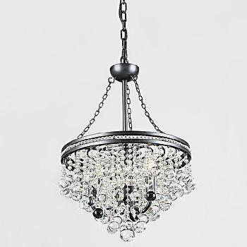 Lighting - Eleanor 3-light Antique Bronze Crystal Chandelier | Overstock.com - antique bronze crystal chandelier, antique bronze crystal droplet chandelier, round crystal droplet chandelier,