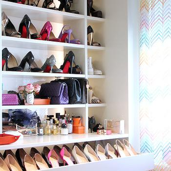 Shelves For Shoes Transitional Closet Woodmeister