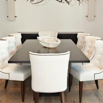 Branch Chandelier, Transitional, dining room, Kylie Frierson Interiors