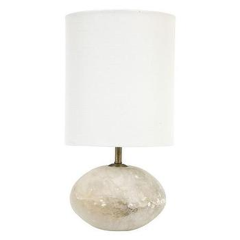 Lighting - Taylor Orb Lamp | Jayson Home - alabaster lamp, round alabaster lamp, sphere shaped alabaster lamp,