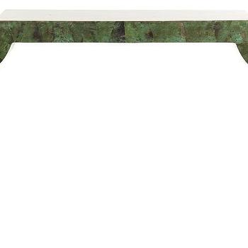 Tables - Jasper Console | Jayson Home - green console table, chinoiserie console table, green chinoiserie console table,