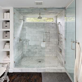 Master Bath Shower Ideas, Transitional, bathroom, One Kind Design