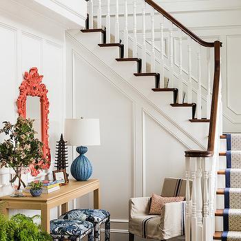 Transitional, Entrance/foyer, Katie Rosenfeld Design