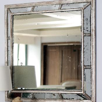 Mirrors - Alexa Mirror | HomeDecorators.com - antiqued wall mirror, gold antiqued wall mirror, antiqued gold mirror,