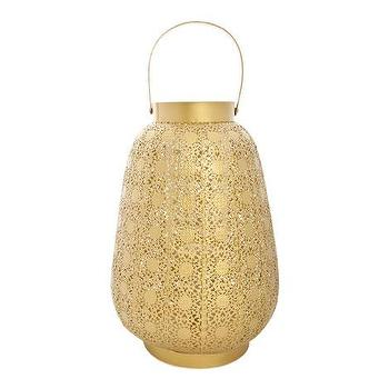 Decor/Accessories - Golden lantern | ZARA HOME - gold candle lantern, perforated gold candle lantern, pierced gold candle lantern,