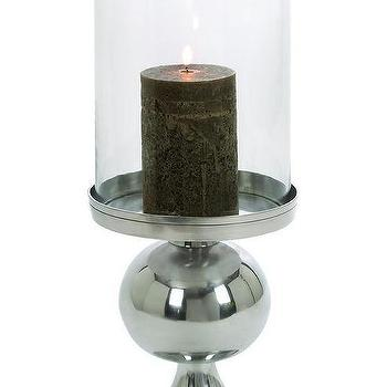 Decor/Accessories - Adisa Candle Holder | HomeDecorators.com - silver candle holder, aluminum ball candle holder, aluminum candle holder,