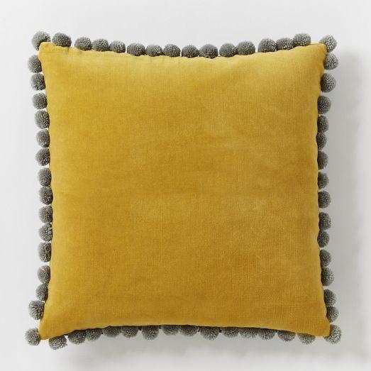 jay street ashti pillow cover horseradish west elm. Black Bedroom Furniture Sets. Home Design Ideas