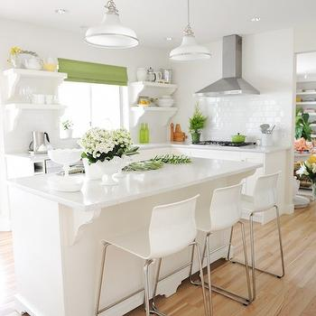 Ikea Counter Stools, Transitional, kitchen, California Paints Rice Paper, Maria Killam Interior Design
