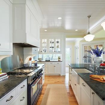 Soapstone Countertops, Traditional, kitchen, Benjamin Moore Windham, Martha O'Hara Interiors