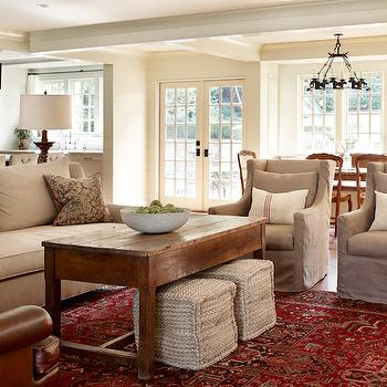 Farmhouse Coffee Table, Country, living room, Elle Scrase