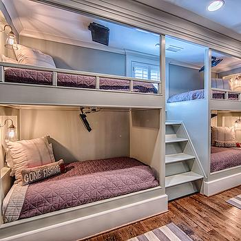 4 Bunk Beds, Cottage, boy's room, Toulmin Homes