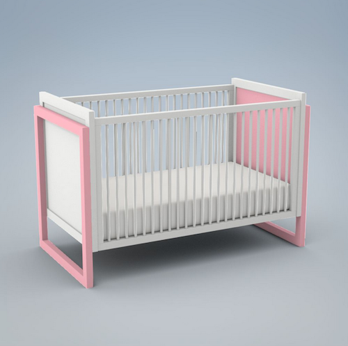 ducduc Campaign Painted Crib Look for Less