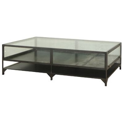 Clayton Gray Shadow Box Coffee Table Look 4 Less