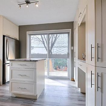 Contemporary, kitchen, Sherwin Williams Gateway gray, Pure D