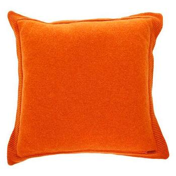 Pillows - Missoni Home Olav Cushion | Amara - orange chevron pillow, bright orange pillow, missoni orange pillow,