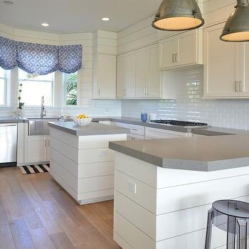 Kitchen Sink Bay Window, Cottage, kitchen, Munger Interiors