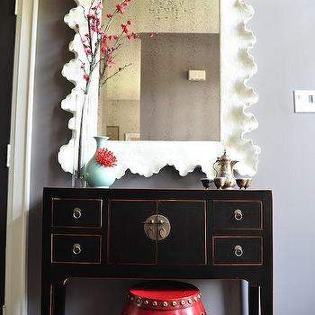 Black Chinese Console Table, Asian, entrance/foyer, Meredith Heron Design