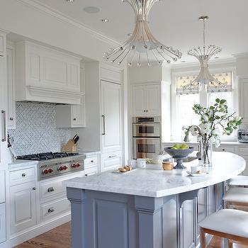 Curved Kitchen Island Design Decor Photos Pictures