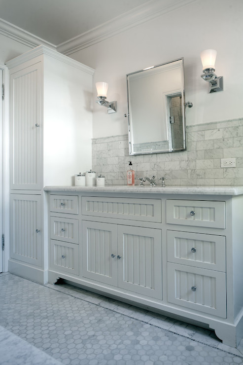 beadboard sink vanity transitional bathroom jwt associates